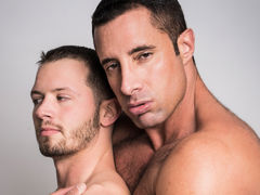 Nervous married chap Asher Devon meets up with gay Internet crush Nick Capra to experiment with chap on chap sex. Watch as experienced Daddy Nick explores every inch of the young Asher's body and fucks him hard until both shoot their mega loads. mature gay
