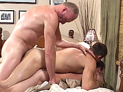 Gay Bareback Paul Stag, Bryce Anderson & Ryan mature gay