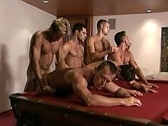 Hunks jerking to jizz at one time